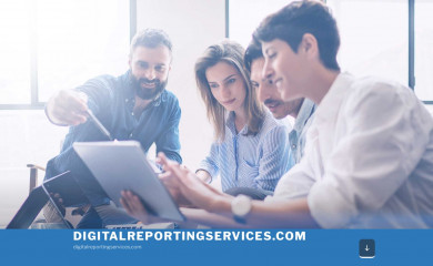 digitalreportingservices.com screenshot