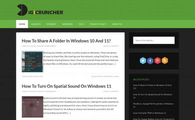 digicruncher.com screenshot