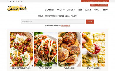diethood.com screenshot