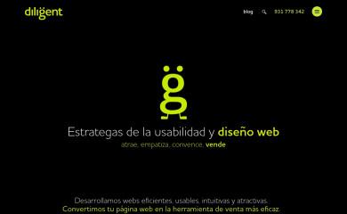 diligent.es screenshot