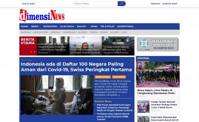 dimensinews.co.id screenshot