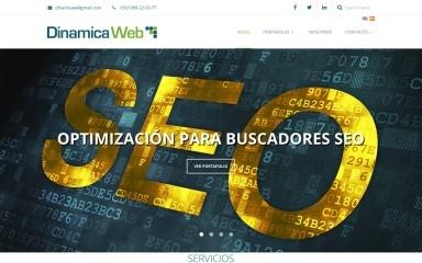 http://dinamicawebecuador.com screenshot
