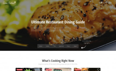 dinepalace.com screenshot