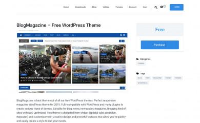 https://dinesh-ghimire.com.np/downloads/blogmagazine-free-wordpress-theme screenshot