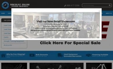 discountonlinefitness.com screenshot