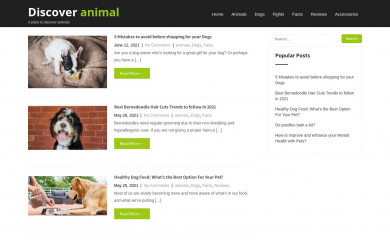 discoveranimal.com screenshot