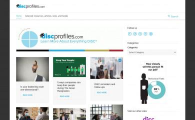 discprofiles.com screenshot