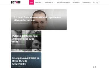 http://distrito.me screenshot