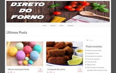 http://diretodoforno.net screenshot
