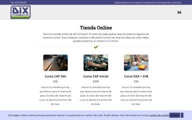 dixonline.es screenshot