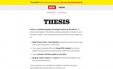 https://diythemes.com/thesis/ screenshot