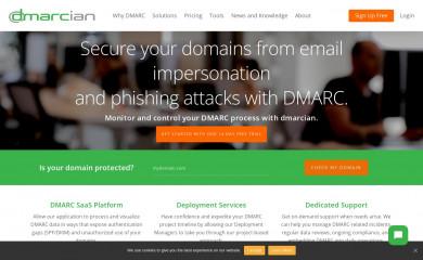 dmarcian.com screenshot