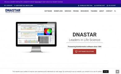 dnastar.com screenshot