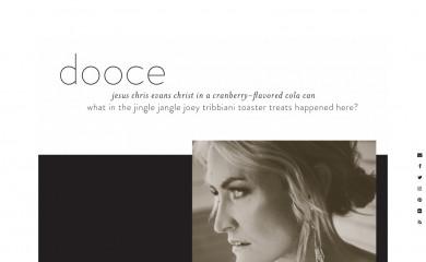 http://dooce.com screenshot