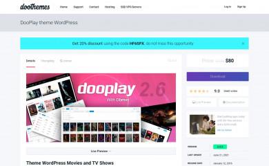 https://doothemes.com/items/dooplay/ screenshot