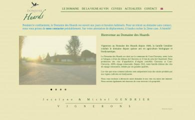 domainedeshuards.com screenshot