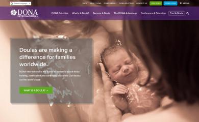 dona.org screenshot