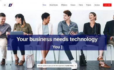donatotechnologies.com screenshot