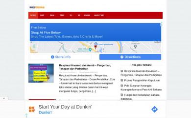 dosenpendidikan.co.id screenshot