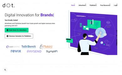 dotaudiences.com screenshot