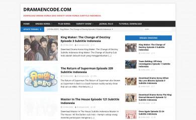 dramaencode.com screenshot