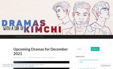 dramaswithasideofkimchi.com screenshot