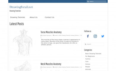 drawingforall.net screenshot