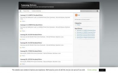 driversamsung.com screenshot