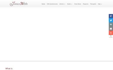 drjonicewebb.com screenshot