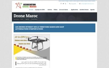 http://dronemaroc.ma screenshot