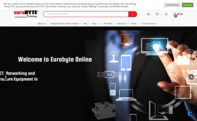 eurobyte.co.za screenshot