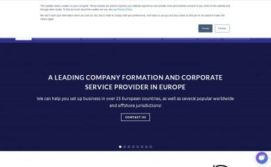 eurocompanyformations.com screenshot