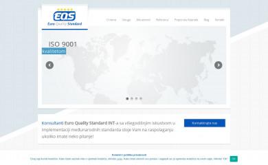 http://eurostandard.rs screenshot