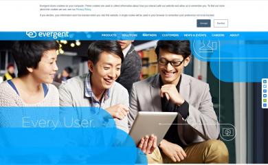 evergent.com screenshot