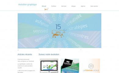 http://evolutiongraphique.com screenshot
