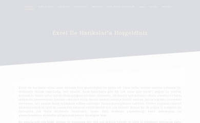 excelileharikalar.com screenshot
