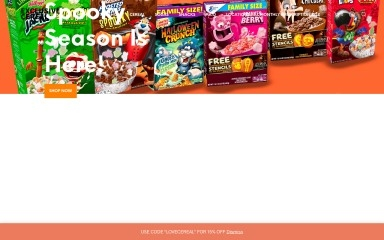 exclusivecereal.com screenshot