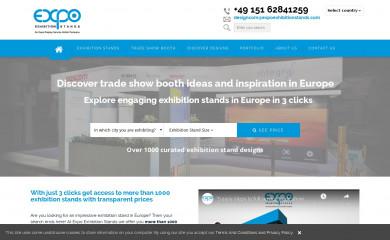 expoexhibitionstands.com screenshot