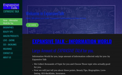 expansivetalk.com screenshot