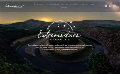 http://extremadurabuenasnoches.com screenshot