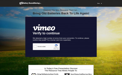 http://ezbatteryreconditioning.com screenshot