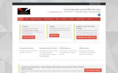 easytest.com.au screenshot