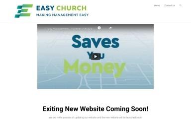http://easychurch.co.za screenshot