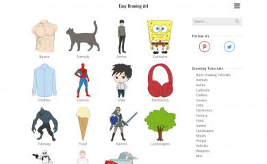 easydrawingart.com screenshot