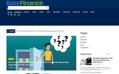 easyfinance4u.com screenshot