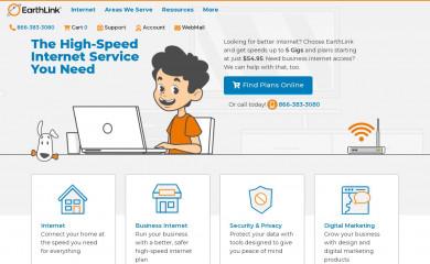 earthlink.net screenshot