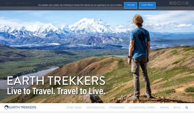 http://earthtrekkers.com screenshot