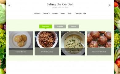 eatingthegarden.com screenshot