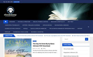 ebooksheep.com screenshot