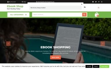 ebookshopping.eu screenshot